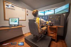 Sesión de Alumno en Simulador de Cessna 172