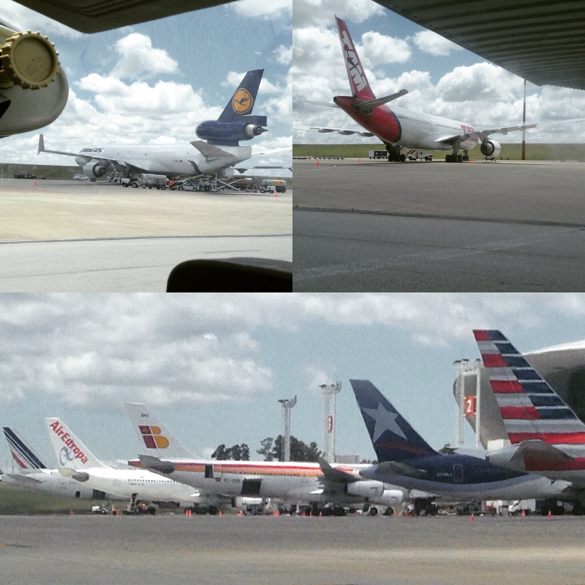 Compartimos aeropuerto con...