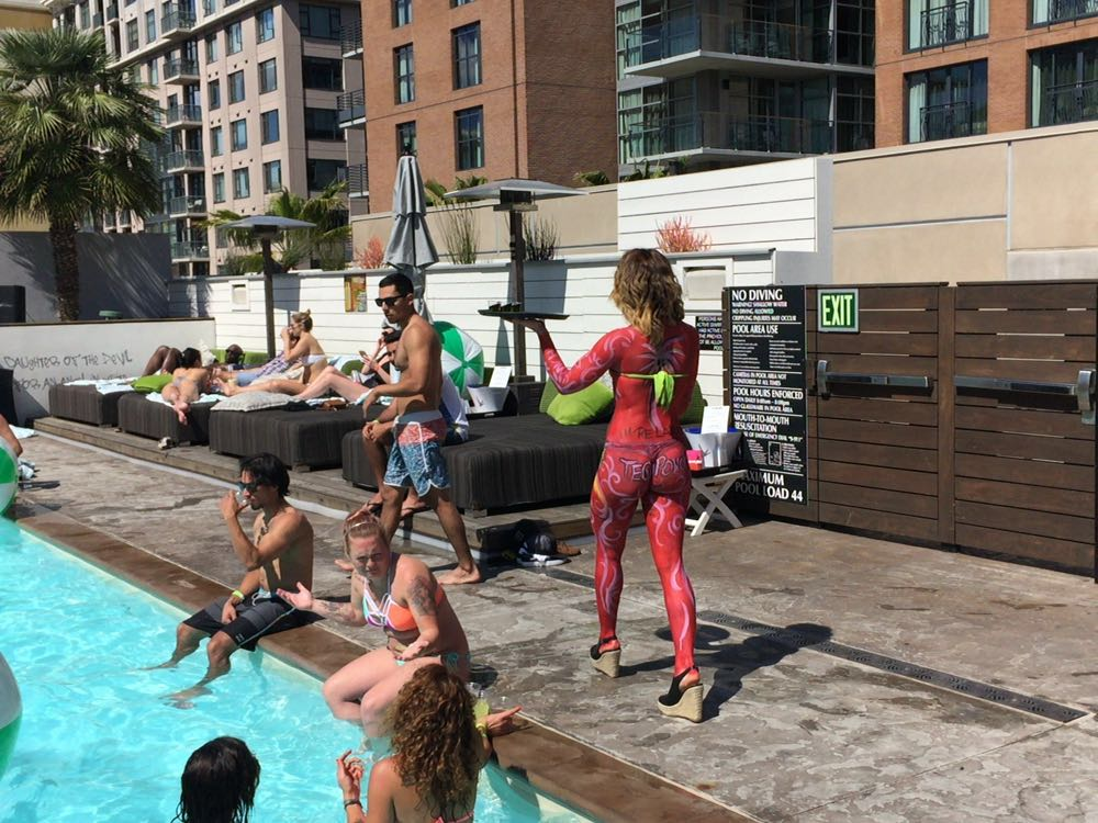 Hardrock Hotel Pool Party