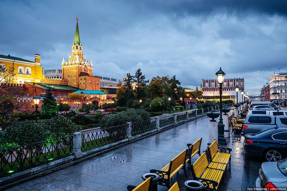 الامطار الصيفية في روسيا, مدينة موسكو