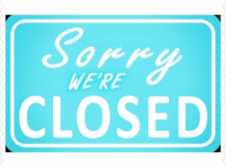 Temporarily closed for services...