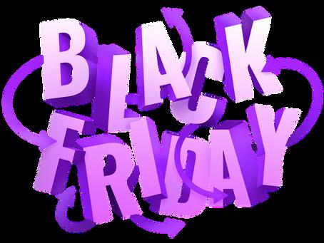 Black Friday Specials!!
