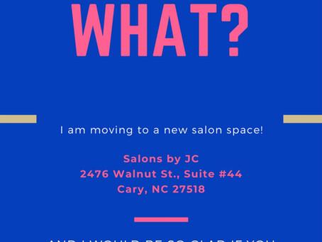 Lush Nail Lounge is moving!