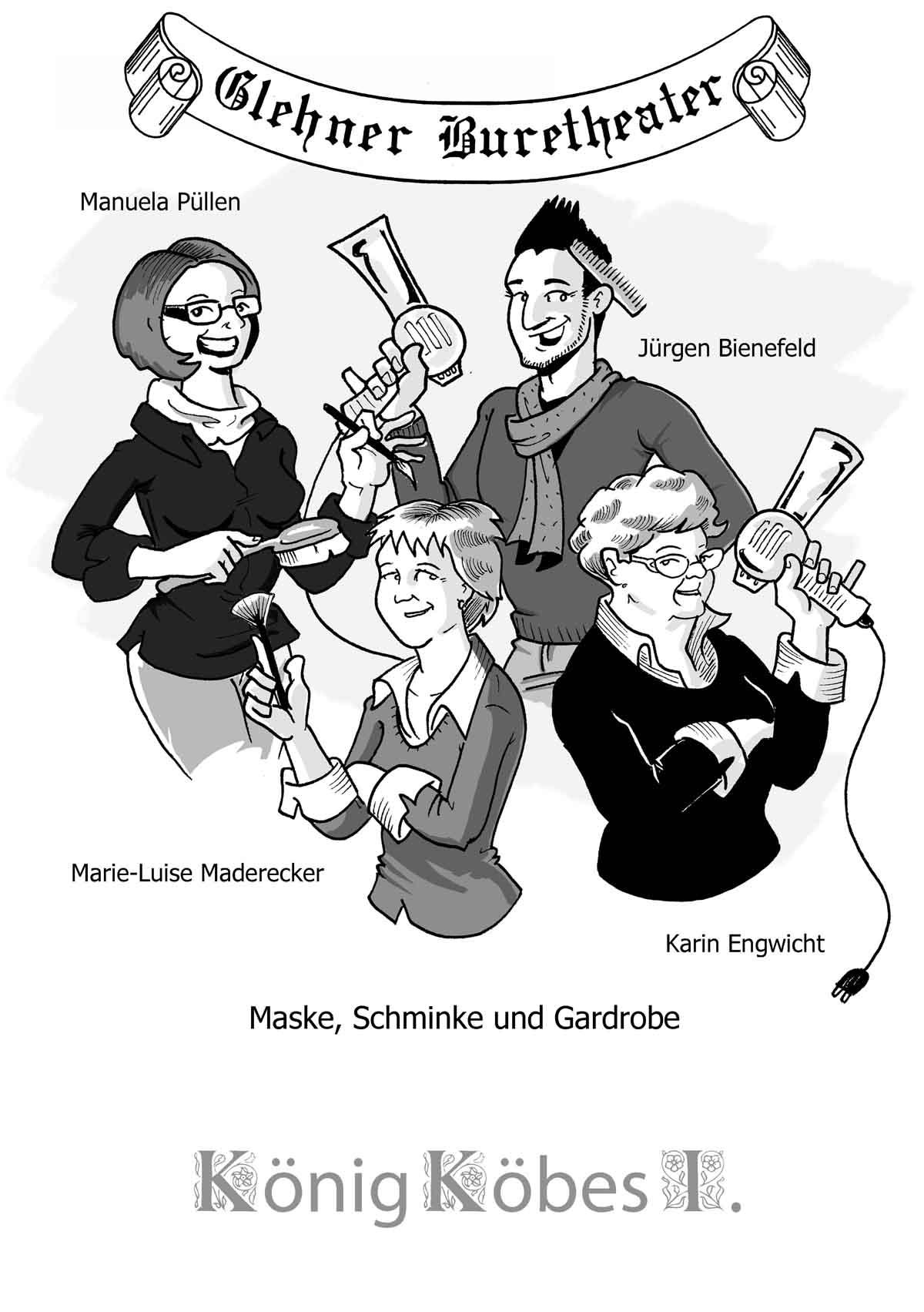 Schmink- und Maske-Team Buretheater