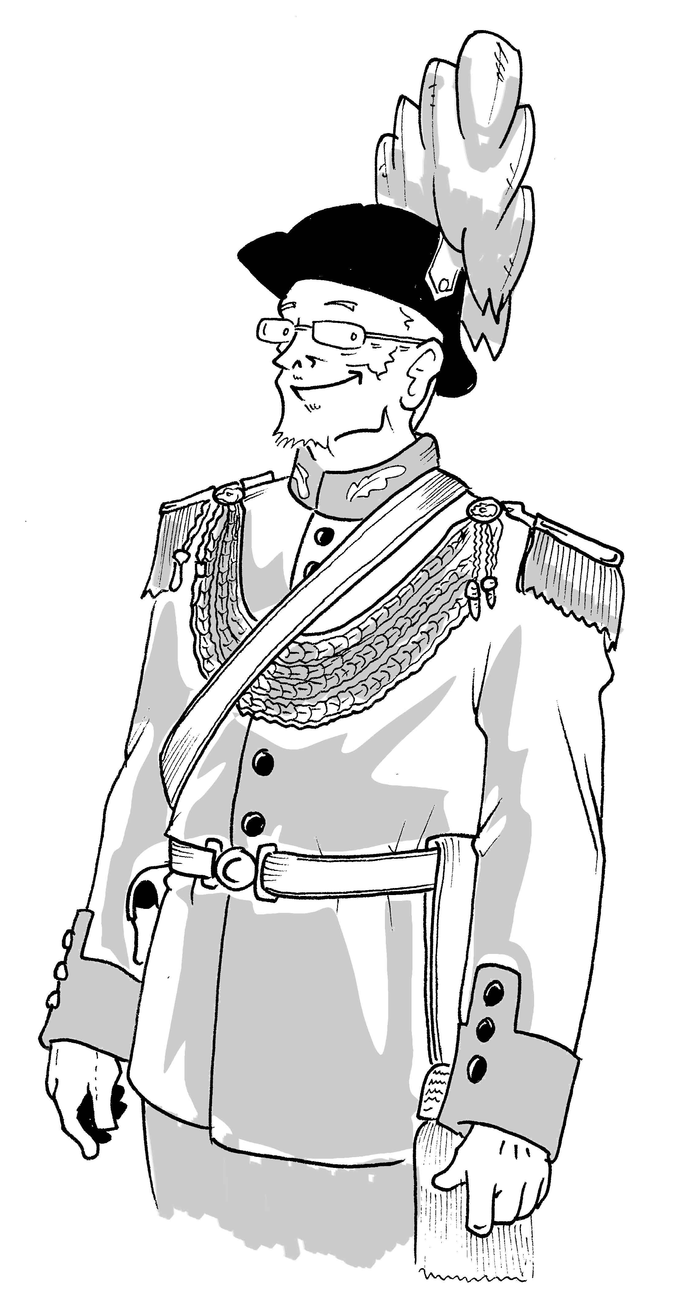 Ehrengeneral Heinrich Splissenbach