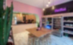 Pink Moon café self service area