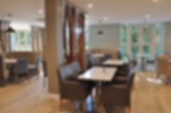 Barkers Kitchen, Northallerton circular seating booths