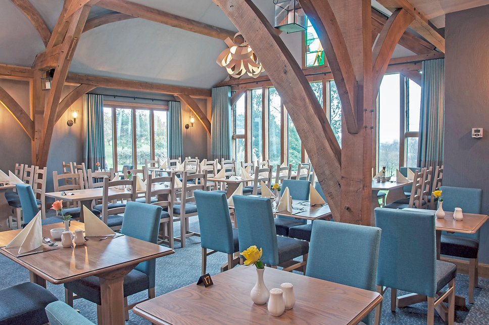 Dainton golf club oak room restaurant