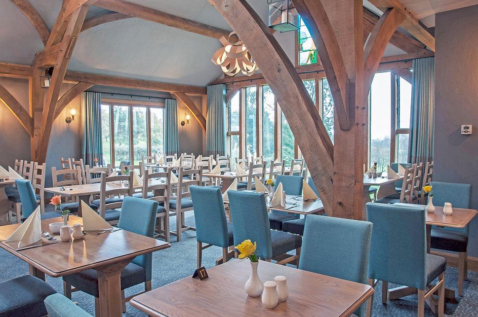 Dainton golf club oak room restaurant
