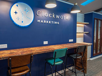 Clockwork Marketing office design