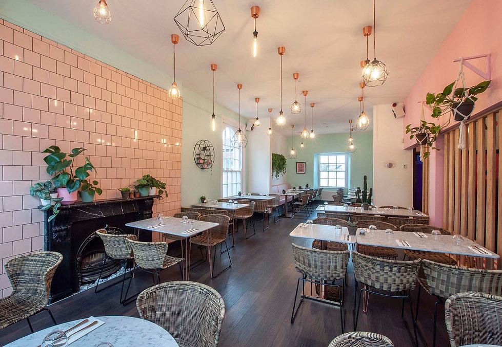 Pink Moon restaurant in Exeter