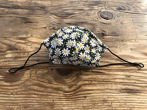 ADULT ICONIC28 Small Daisies Cotton Face Mask