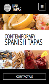 Restaurantes e Comida website templates – Restaurante de Tapas
