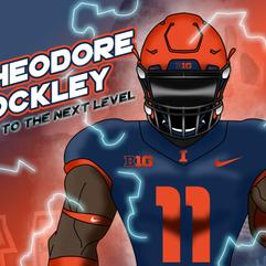 University of Illinois Football Recruiting Illustrations
