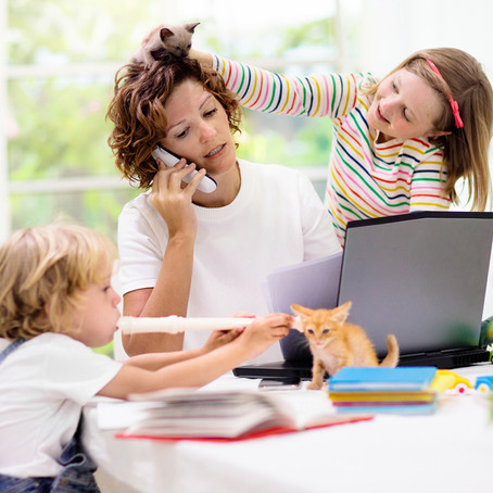 9 ways parents can work at home with kids — and actually get stuff done