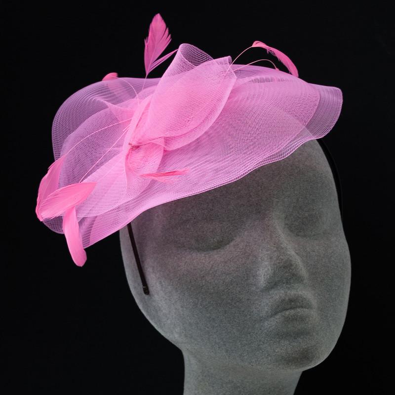 7. Pink színű fejdísz