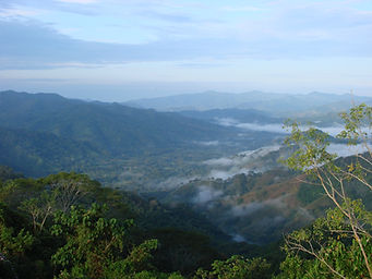 Mountain and Gulf of Nicoya Landscape