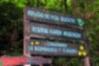 Sign for Karen Mogensen Reserve
