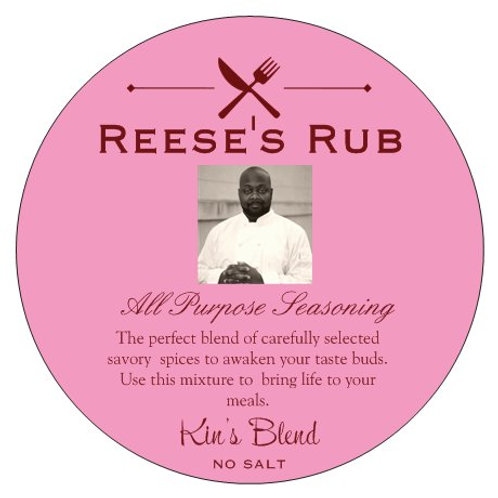 Kin's Blend REESE'S RUB - No Salt