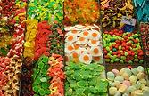 puesto de dulces