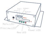 SD Recorderlight indication