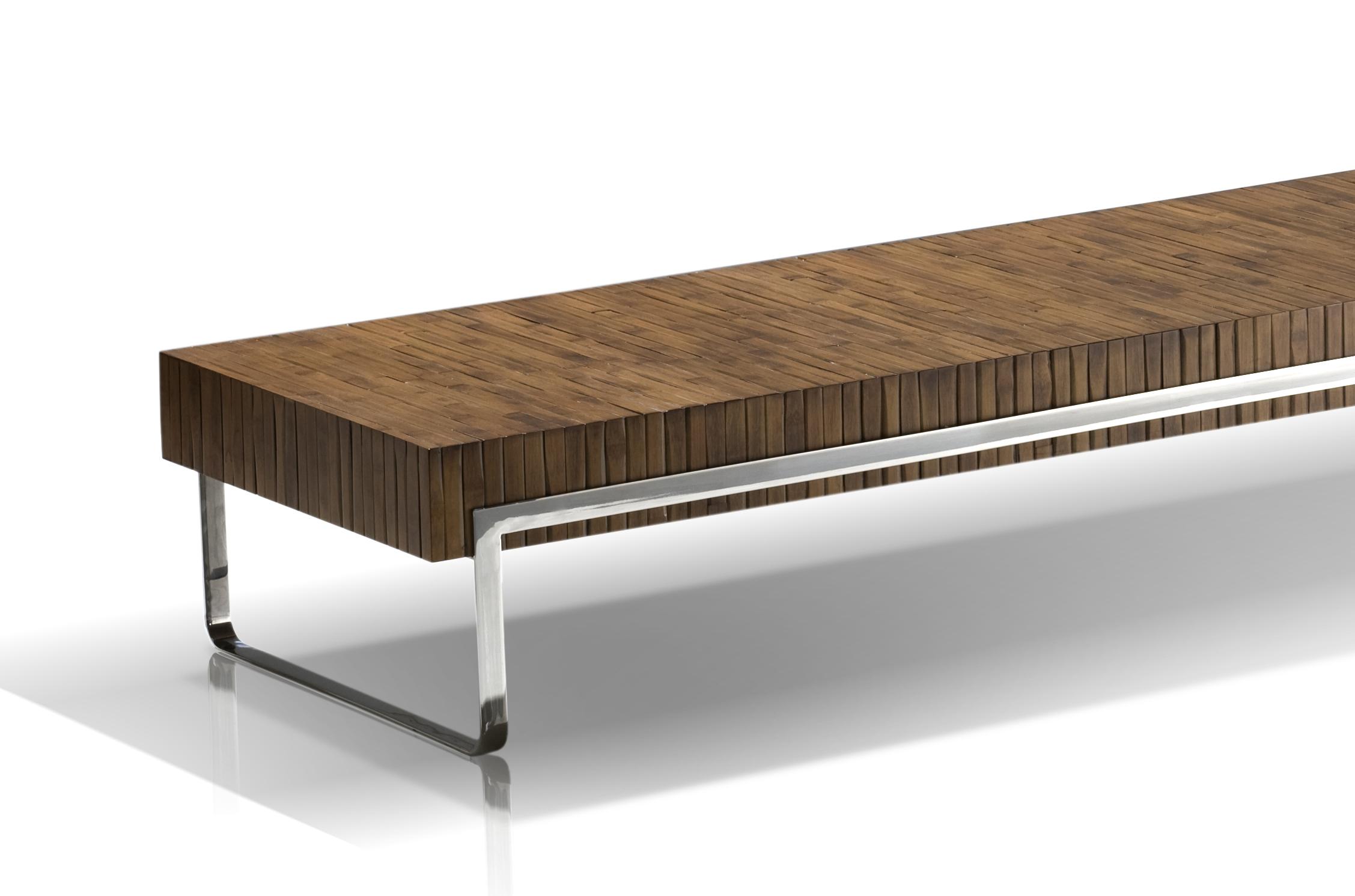 mesa centro bamboo