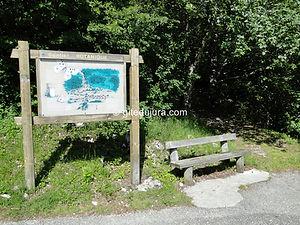 Foncine le haut - Sentier botanique - Entrée - Location de gîtes vacances en montagne Haut-Jura