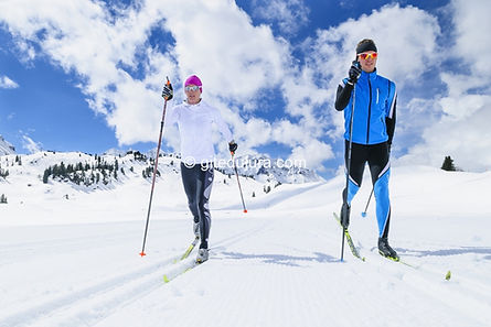 Winter activities - Rental of cottages for holidays in the High-Jura mountains