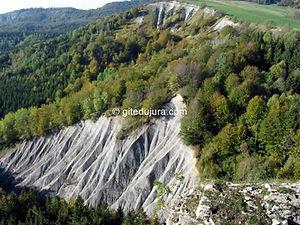Foncine le haut - Belvédère de la Roche fendue - Location de gîtes vacances en montagne Haut-Jura