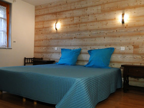 New bedrooms and new living room of the Gite 1804
