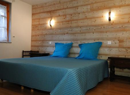 Nouvelles chambres et nouveau salon du Gîte 1804