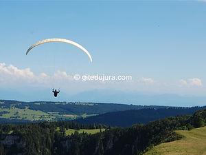 Mont d'Or - Parapente - Location de gîtes vacances en montagne Haut-Jura