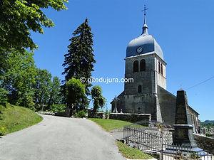 Foncine le haut - Église - Location de gîtes vacances en montagne Haut-Jura