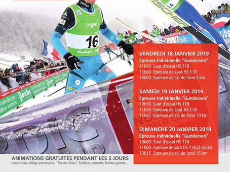 Nordic Combined World Cup in Chaux-Neuve