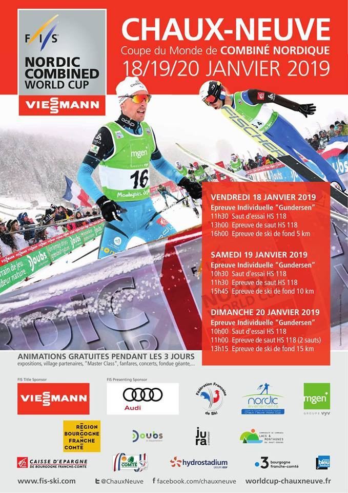 Nordic Combined World Cup in Chaux-Neuve - Vacation rental in High-Jura mountain