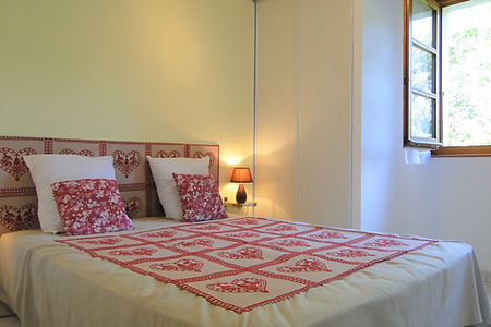 Gite 829 - Bedroom n°2 - Rental of cottages for holidays in the High-Jura mountains