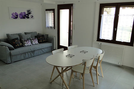 Gite 1805 Bis - Living room - Rental of cottages for holidays in the High-Jura mountains