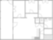 Gîte 1804 - Plan intérieur