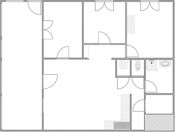 Gite 1804 - Interior plan - Rental of cottages for holidays in the High-Jura mountains