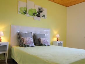 New relaxation bed and renovated room in the gite 1805