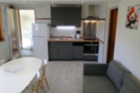 Gite 829 - Kitchen, Dining room, Living room