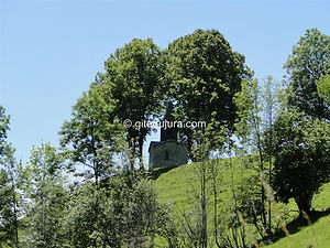 Foncine le haut - Oratory of Saint Roch - Rental of cottages for holidays in the High-Jura mountains