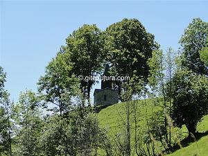 Foncine le haut - Oratoire de Saint Roch - Location de gîtes vacances en montagne Haut-Jura