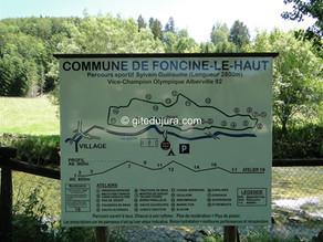 Fitness trail, tennis, badminton, basketball, handball, football at Foncine le haut