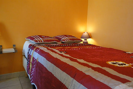 Gite 1805 - Bedroom n°2 - Rental of cottages for holidays in the High-Jura mountains