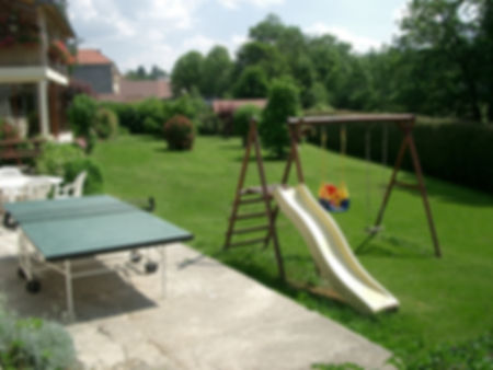 Gite 1805 Bis - Garden and play area