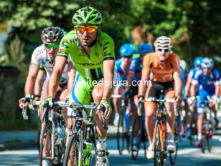 Cycling race at Foncine le haut