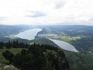 Lac de Joux - Location de gîtes vacances en montagne Haut-Jura