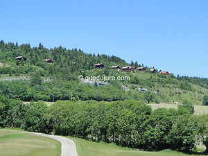 Foncine le haut - Bayard chalet - Rental of cottages for holidays in the High-Jura mountains