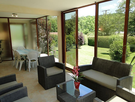 Gite 1804 - Veranda - Rental of cottages for holidays in the High-Jura mountains